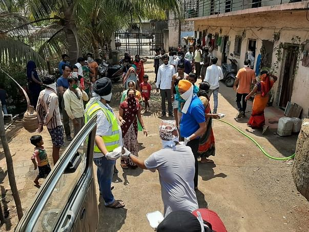 Help Gurudwara Panvel in supporting People with Oxygen & Food