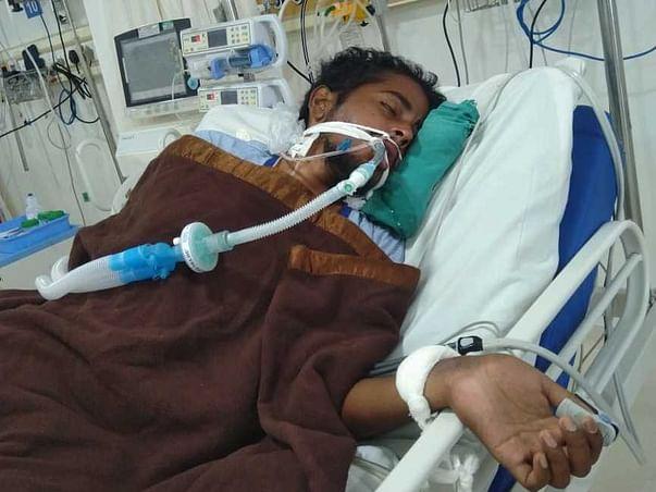 My Neighbor Santhosh Kumar Parida Is Struggling With Accident (Head Injury), Help Him