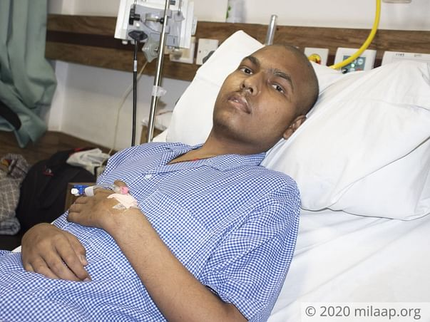 My Son Is Struggling With Blood Cancer, Help Him