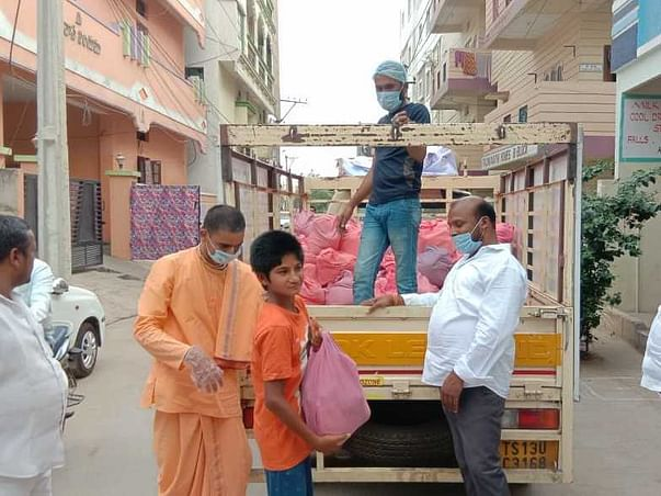 Help Hare Krishna Movement to Feed Needy With Grocery Kit & Breakfast