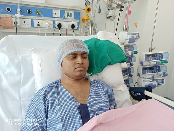 Once Full Of Dreams, He Is Now Helplessly Battling Deadly Cancer
