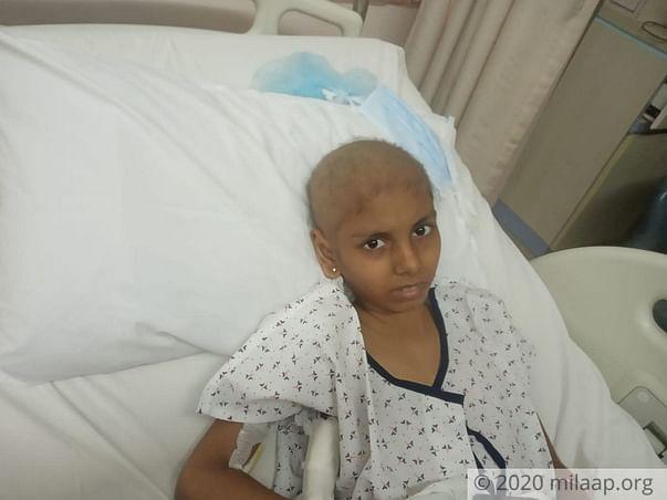 Help 12 Years Old Veelika to Fight Acute Myeloid Leukemia