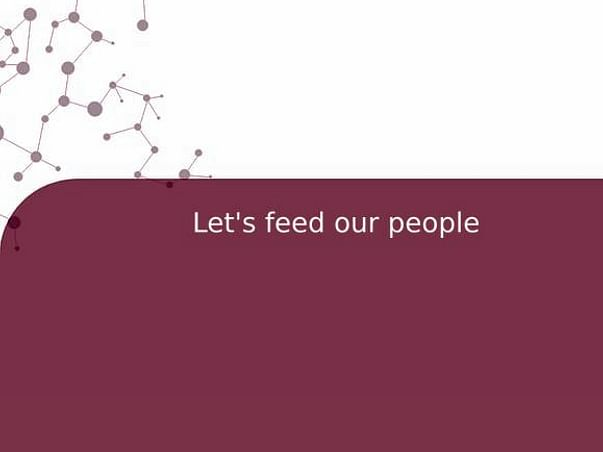 Let's feed our people