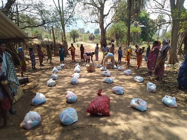 Pledge your support to Sikshasandhan's COVID-19 relief in Mayurbhanj
