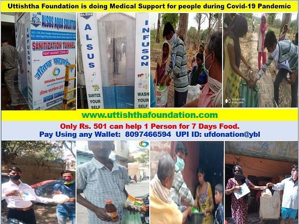 Food And Hygiene Kits To Be Distributed To The Hungry And Needy