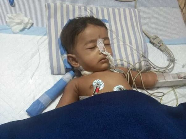 My 6 Month Old Son Is In The Icu And Need Your Help To Survive