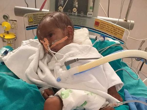 Too young to die, Help Aditya fight congenital heart disease