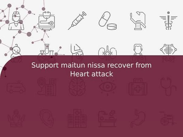 Support maitun nissa recover from Heart attack
