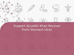 Support Ajruddin Khan Recover From Stomach Ulcer