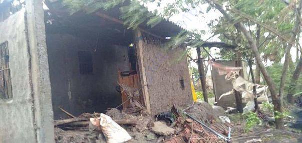 Destruction of houses