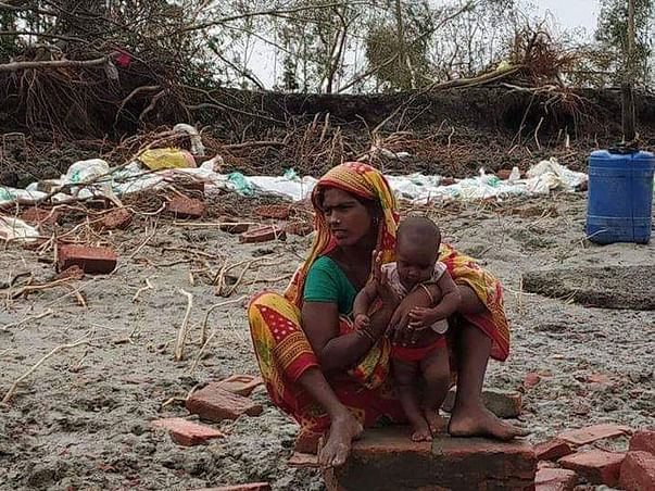 Help fight hunger and homelessness  of the super cyclone affected.