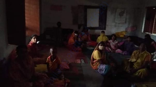 Displaced families at rescue centers facing an uncertain future