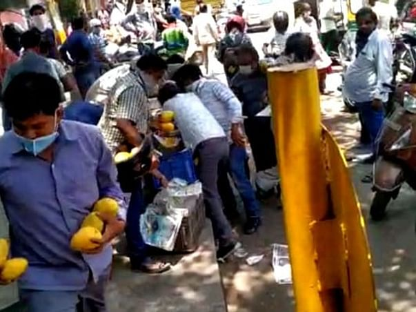 Help Chhote the mango seller- his mangoes were looted by Delhi mob