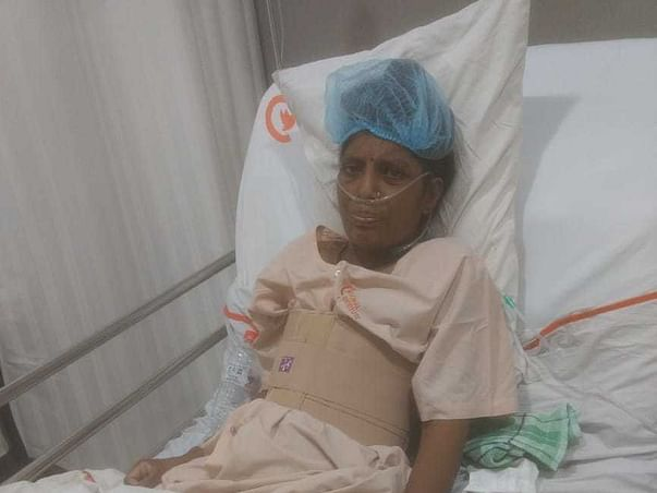 Support My Mother To Fight Against Bone Cancer