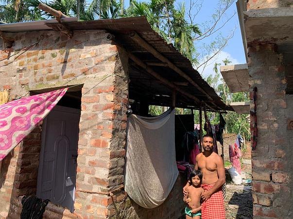 Rebuilding Bawali Village Post-Cyclone Amphan