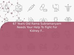 67 Years Old Rama Subramanyam Needs Your Help To Fight For Kidney Failure