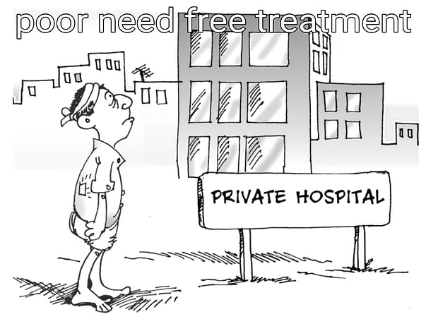 Help to establish a free hospital for poor and helpless people
