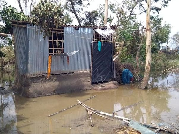 Relief and Rehabilitation Efforts after Cyclone Amphan- Sunderbans