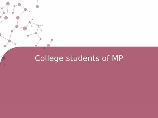 College students of MP