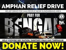 Amphan Super Cyclone Relief Drive 2020 | #Support #Donate #Revive