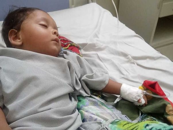 Help My 1 Year Old Son Vidhan Fight Hernia