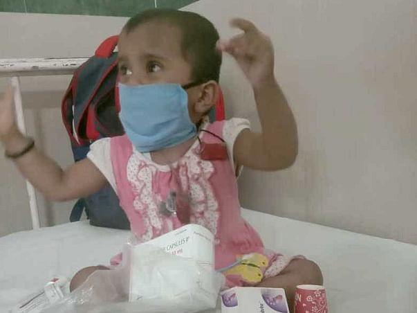 2 Years Old Runjhun Needs Your Help Fight Aplastic Anemia