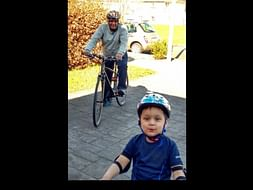 Cycle for Charity in Pune (in memory of my Grandad)