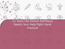 12 Years Old Dinesh Kartikeya Needs Your Help Fight Hand Fracture