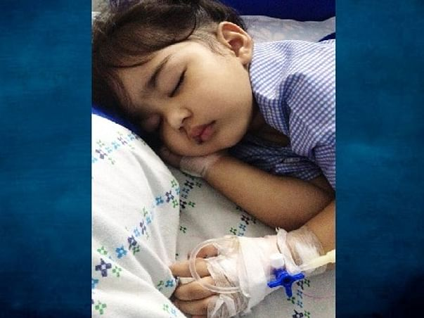 2 years old Abigail wagh Needs your Help Fight Retinoblastoma