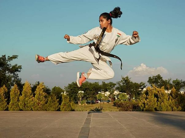 Support Varshitha And Others Participate In Martial Arts Tournaments.