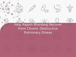 Help Rajesh Bhardwaj Recover From Chronic Obstructive Pulmonary Diseas