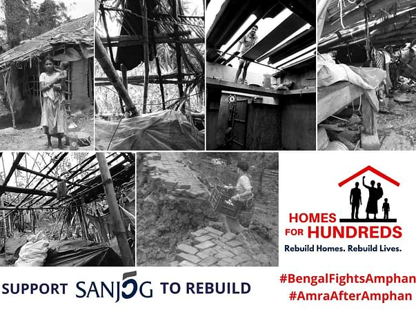 Pledge your support to Sanjog's #HomesForHundreds Relief Efforts