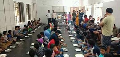 Feeding the orphanage