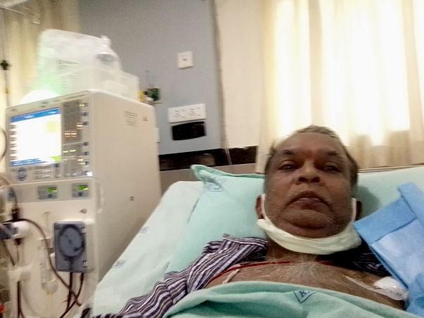 Support Krishnamoorthy Srinivasan recover from Chronic Kidney Disease