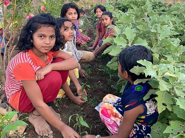Support Tribal Children  Education in Jamanpada Village