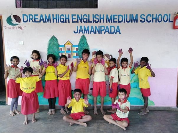 Support Tribal Children  Education in Jamanpada Village