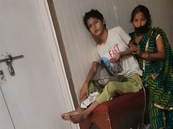 Help for sonalika fighting with tumor on head(CYSTIC GLIOMA)