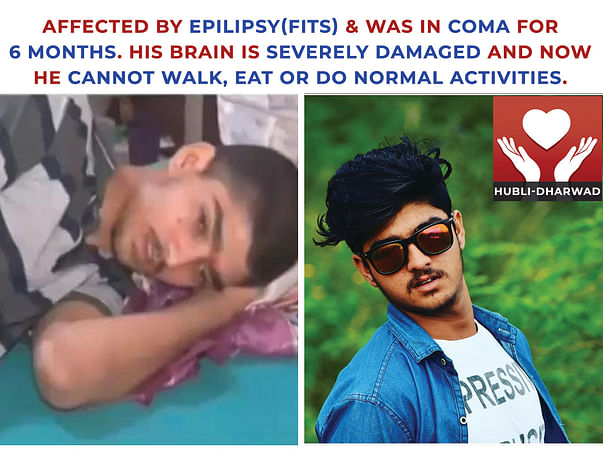 Help Vinayak's Mother Revive Her Mentally Challenged Son From COMA