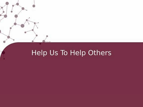 Help Us To Help Others