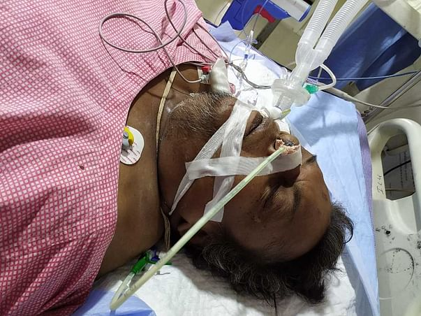 My Father Is Struggling With Lungs Infection And Kidney Failure, Help Him