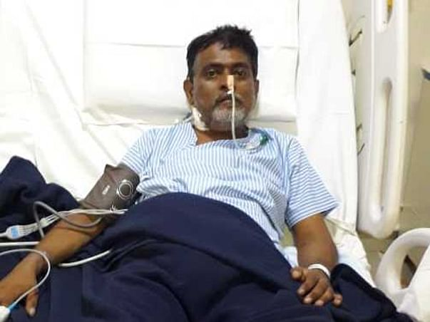 51 years old Mahendra Chavan needs your help fight liver cirrhosis
