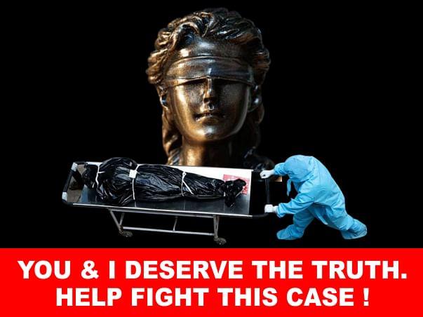 Help fund court case to ensure we get genuine COVID data& avoid deaths