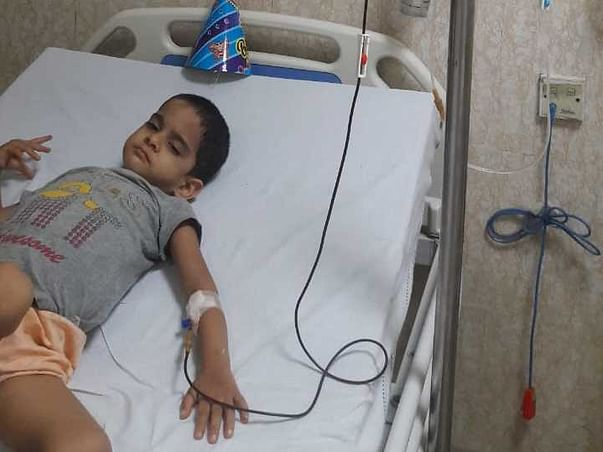 3 Years Old Suhani Needs Your Help To Fight For Leukemia(Blood Cancer)