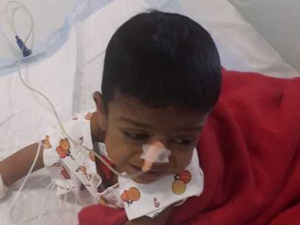 1 year old mayank bansal needs your help fight Sepsis