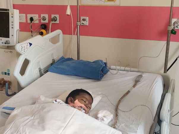 Help Little Mayank Fight Biliary Cirrhosis