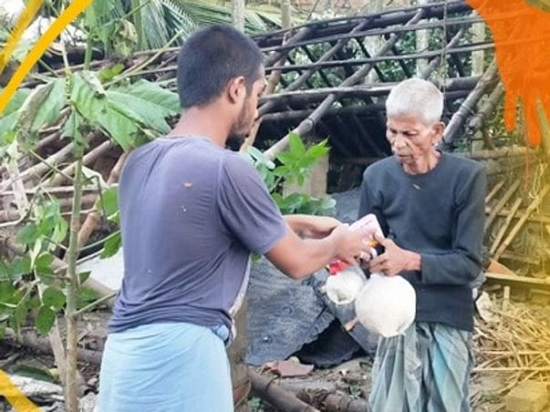 Extend your helping hand for Amphan Effected