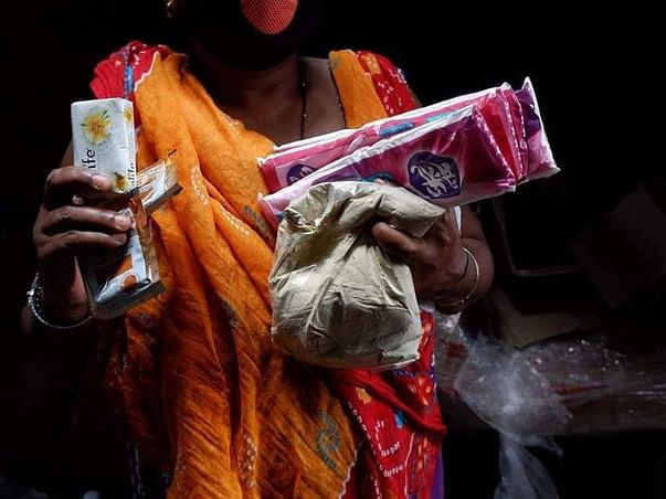 Help Women Access Sanitary Pads #COVIDLockdown #CycloneAmphan