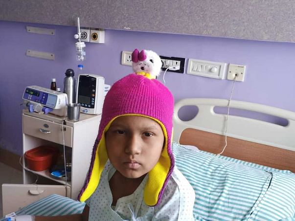 My 8 year old daughter has cancer and need your help to survive