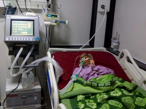 55 Years Old Bhagwat Bhole Needs Your Help Fight Brain Swelling