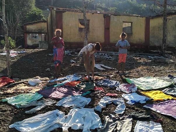 Nisarg Cyclone destroyed Aadivasi Pada